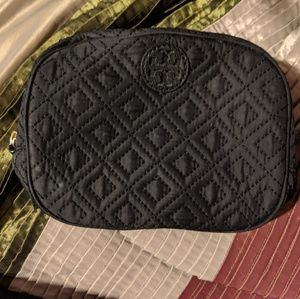 Tory burch Ella quilted makeup case